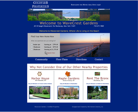 New Site for Wavecrest Gardens