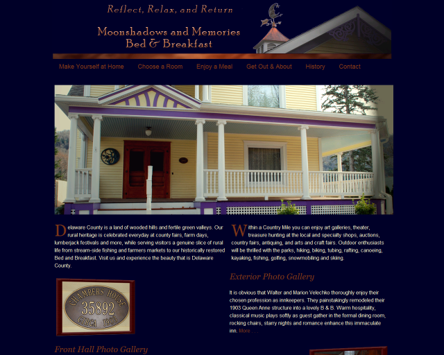 New Bed and Breakfast-Moonshadows and Memories